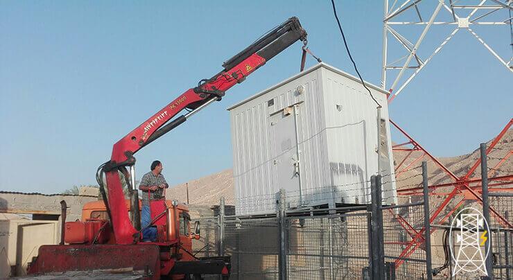 اجرای پروژه FDD ایرانسل در استان هرمزگان - شهرستان پارسیان - 3